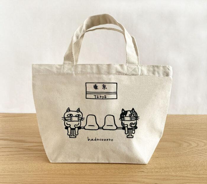 hadaconekoのミニトートバッグ