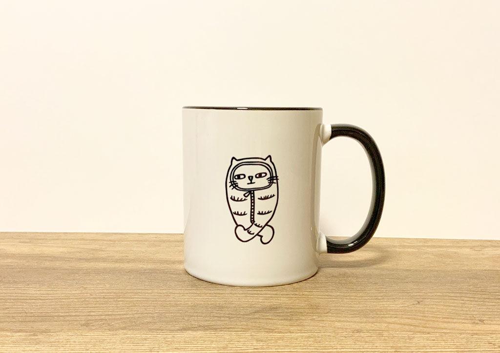 hadaconekoの2トーンマグカップ
